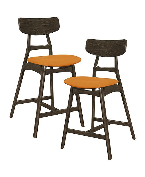 Homelegance Paran Counter Height Dining Chair (Set of 2)