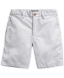 Big Boys Cotton Poplin Shorts