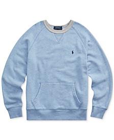Big Boys Twill Terry Sweatshirt