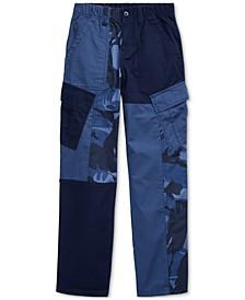 Big Boys Patchwork Camo Cargo Pants