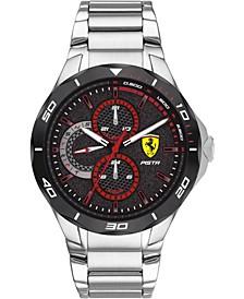 Men's Pista Stainless Steel Bracelet Watch 44mm