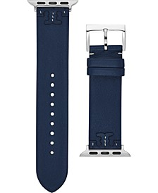 Women's McGraw Navy Blue Leather Apple Watch® Strap