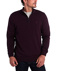 Men's Slim-Fit 1/2-Zip Sweater