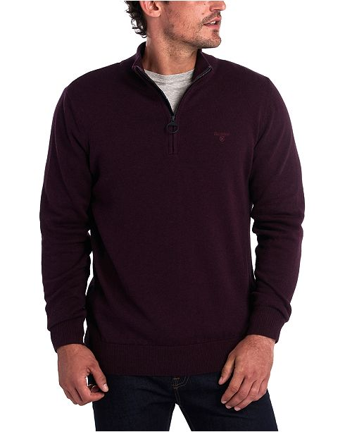 Barbour Men's Slim-Fit 1/2-Zip Sweater