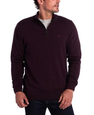 Barbour Sweaters MEN'S SLIM-FIT 1/2-ZIP SWEATER