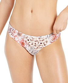 Savannah Printed Full Hipster Bikini Bottoms