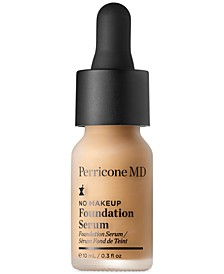 Receive a Free No Makeup Foundation Serum with any $75 Purchase!