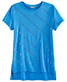Big Girls Embellished-Logo T-Shirt