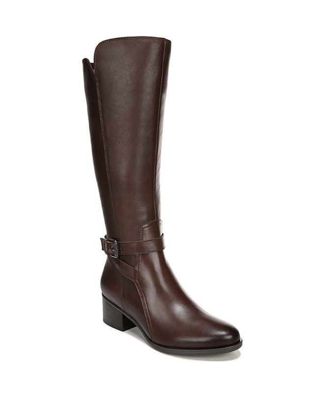 Naturalizer Demetria Wide Calf High Shaft Boots