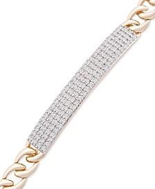 Diamond Bar Link Bracelet (1 ct. t.w.) in 10k Gold