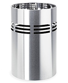 Stainless Steel Wastepaper Basket - Vents