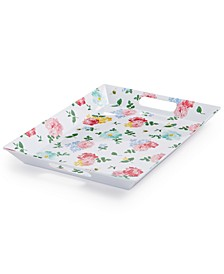 Garden Party Floral Melamine Tray, Created for Macy's