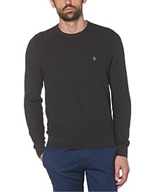 Men's Tuck Stitch Sweater