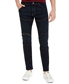 Men's 5620 3D Slim-Fit Zip-Knee Stretch Jeans