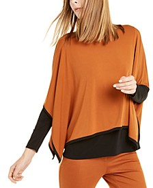Colorblocked Poncho Top, Created For Macy's