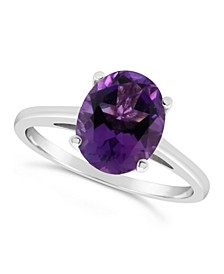 Amethyst (2-1/3 ct. t.w.) Ring in Sterling Silver. Also Available in London Citrine (2-5/8 ct. t.w.) and Blue Topaz (3 ct. t.w.)