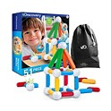 Discovery Kids Toy Magnetic Building Blocks Set