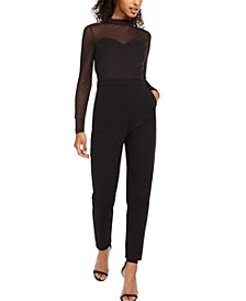 Leah Illusion Jumpsuit