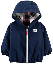 Baby Boys Hooded Poplin Jacket