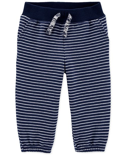 Carter's Baby Boys Cotton French Terry Jogger Pants