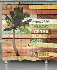 Beach Memories Shower Curtain