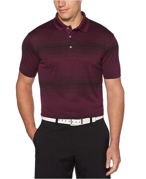 PGA TOUR Men's Big & Tall Printed Golf Polo