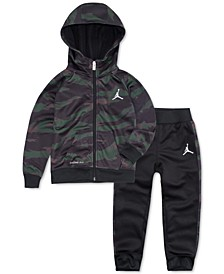 Toddler Boys 2-Pc. Camo-Print Therma-FIT Hoodie & Jogger Pants Set
