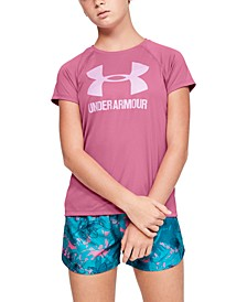 Big Girls Logo Solid T-Shirt
