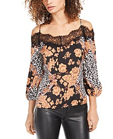 Tancia Cold-Shoulder Top