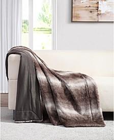 Millburn Faux Fur Throw Blanket