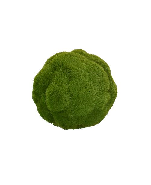 "Mills Floral 4.5""D Faux Mood Moss Ball"
