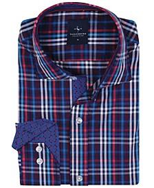 Big Boys Multi Grid Plaid Button-Down Shirt