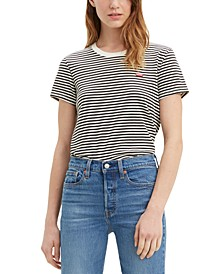 Perfect Striped Cotton T-Shirt