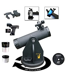 500mm x 80mm Table Top Dobsonian Telescope Kit with Smartphone Adapter