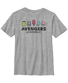 Marvel Big Boy's Classic Mini Hero's Short Sleeve T-Shirt