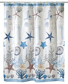 gold and silver shower curtain. Avanti Antigua Shower Curtain Curtains  Macy s