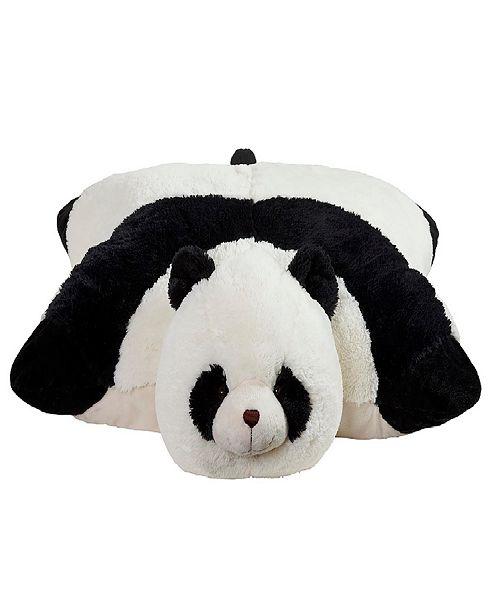 Pillow Pets Signature Comfy Panda Jumboz Stuffed Animal Plush Toy