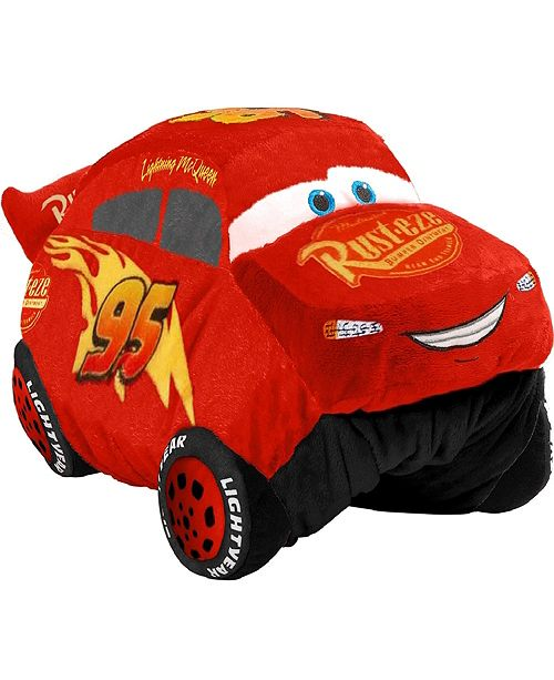 Pillow Pets Disney Lightning Mcqueen Jumboz Stuffed Animal Plush Toy Reviews Home Macy S