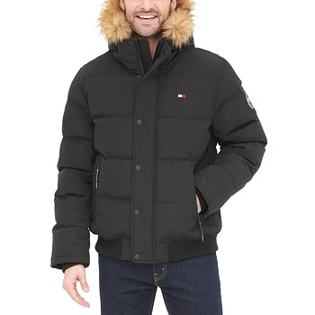 Tommy Hilfiger Men's Short Snorkel Coat