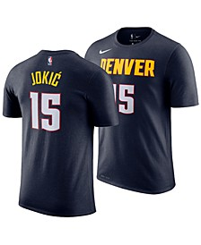 Men's Nikola Jokic Denver Nuggets Icon Player T-Shirt