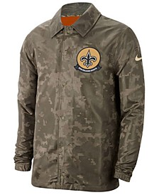 Men's New Orleans Saints Salute to Service Light Weight Jacket