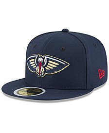 Big Boys New Orleans Pelicans Basic 59FIFTY Fitted Cap