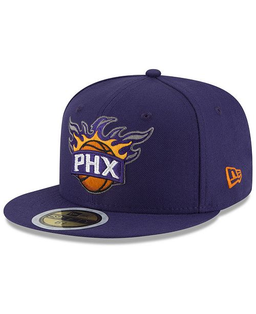 New Era Big Boys Phoenix Suns Basic 59FIFTY Fitted Cap