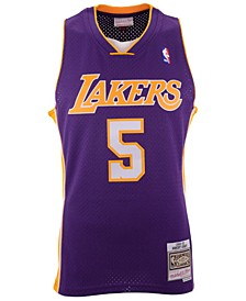 Men's Robert Horry Los Angeles Lakers Hardwood Classic Swingman Jersey