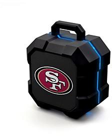 Prime Brands San Francisco 49ers Shockbox LED Speaker