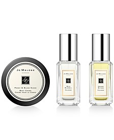Receive a Free 3-Pc. gift with any $135 purchase from the fragrance collection