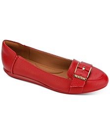 Women's Viv Buckle Loafer Flats