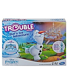 Trouble Disney Frozen Olaf's Ice Adventure Game