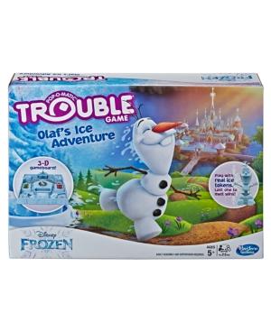 Trouble Disney Frozen Olaf's Ice Adventure Game