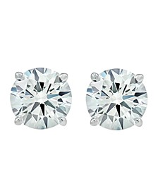 3 ct. t.w. Lab Grown Diamond Studs in 14k White Gold